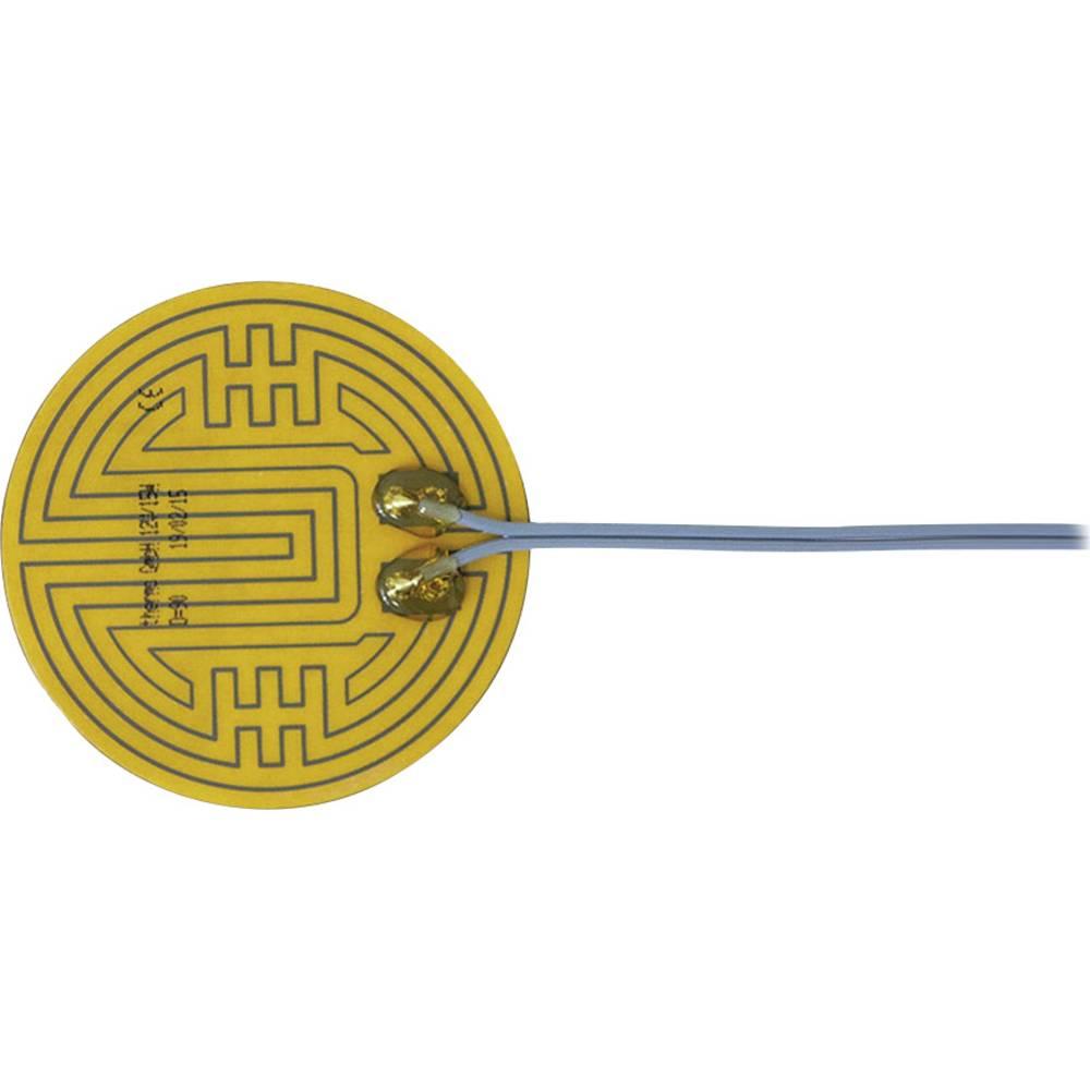 Polyester Varmefolie selvklæbende 12 V/DC, 12 V/AC 15 W Beskyttelsestype IPX4 (Ø) 90 mm Thermo
