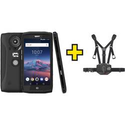 Crosscall Set mit Chesthalterung & Zunanji pametni telefon 64 GB 5.5 Palec(14 cm)Dve SIM kartici Android™ 8.1 Oreo 12 Mio.