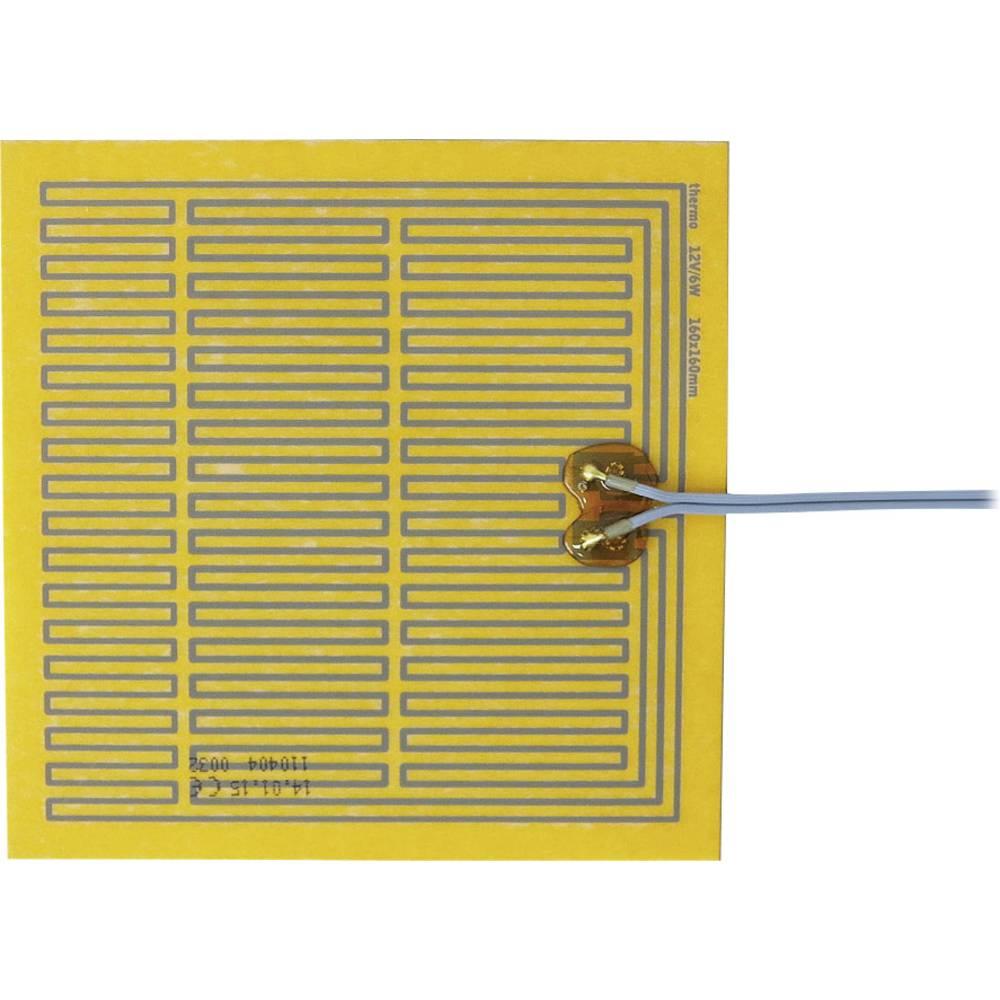 Samoljepljiva grijaća folija 12 V/DC, 12 V/AC 6 W vrsta zaštite IPX4 (D x Š) 160 mm x 160 mm Thermo