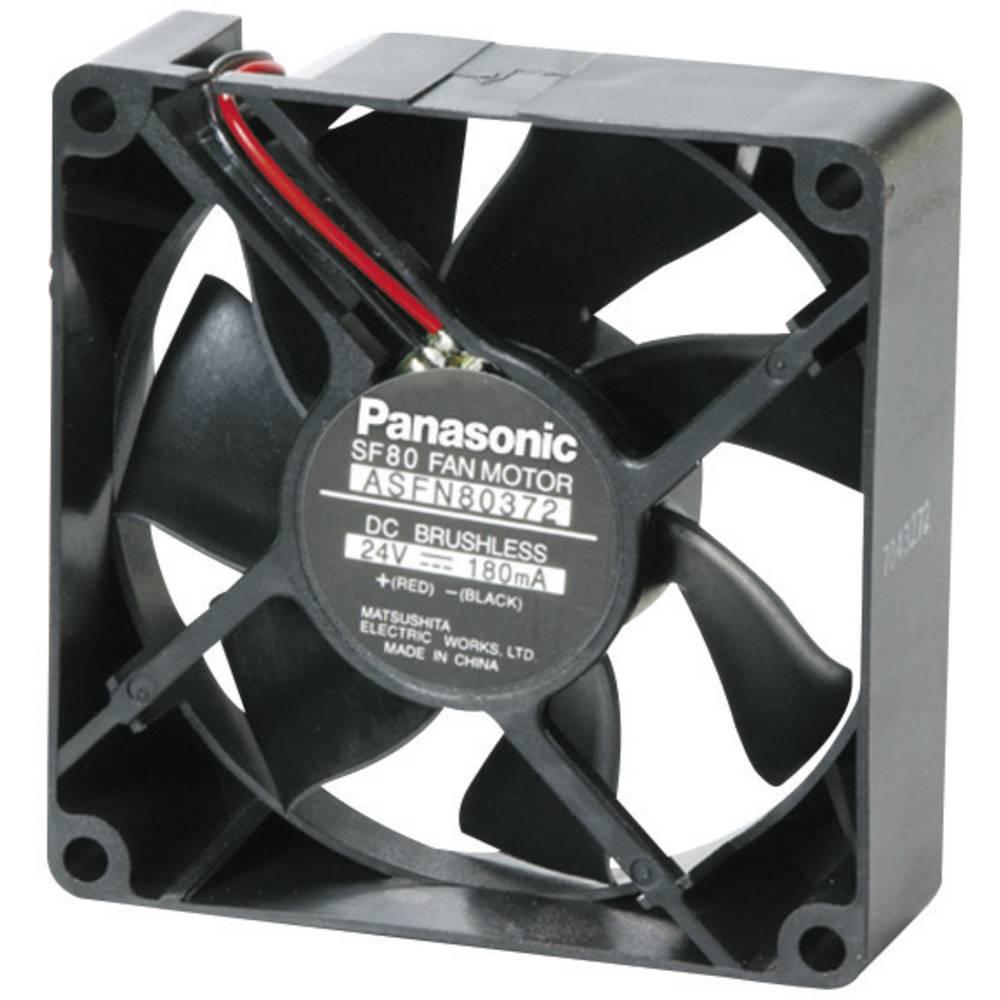 Aksialni ventilator 24 V/DC 52.8 m/h (D x Š x V) 80 x 80 x 25 mm Panasonic ASFN82392