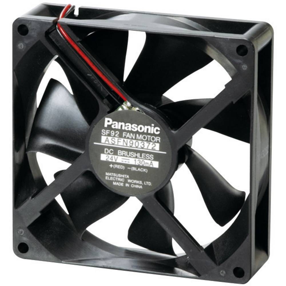 Aksialni ventilator 24 V/DC 82.8 m/h (D x Š x V) 92 x 92 x 25 mm Panasonic ASFN90392