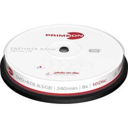 DVD+R DL prazan 8.5 Primeon 2761254 25 ST Vreteno Za tiskanje