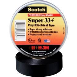 Izolacijska traka Scotch® Crna (D x Š) 33 m x 25 mm 3M SUPER33+-25X33 1 Role