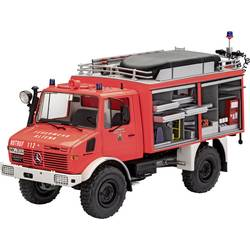 Revell 07531 Schlingmann Unimog RW1 Gasilsko vozilo, komplet za sestavljanje 1:24