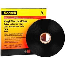 Izolacijska traka Scotch® Crna (D x Š) 33 m x 50 mm 3M SCOTCH22-50X33 1 Role