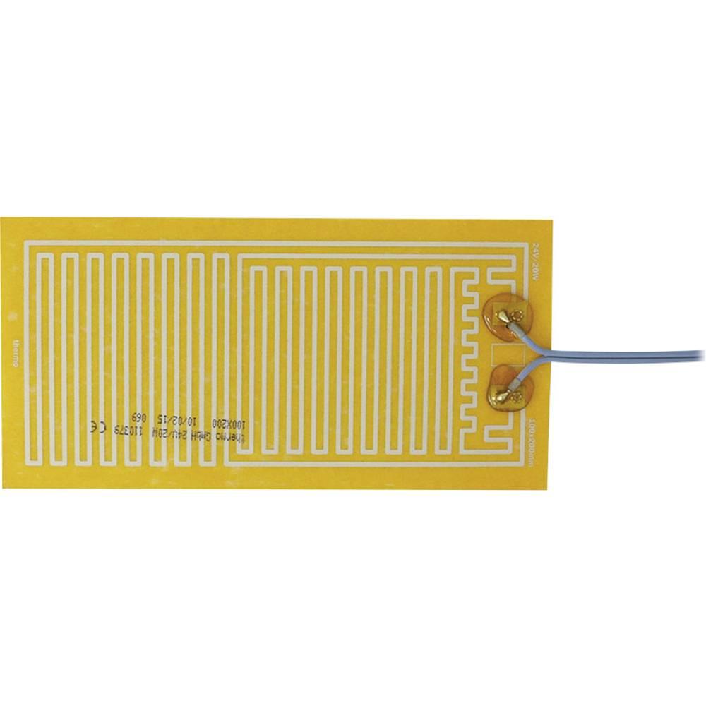Samolepilna ogrevalna folija 24 V/DC, 24 V/AC 20 W vrsta zaščite IPX4 (D x Š) 200 mm x 100 mm Thermo