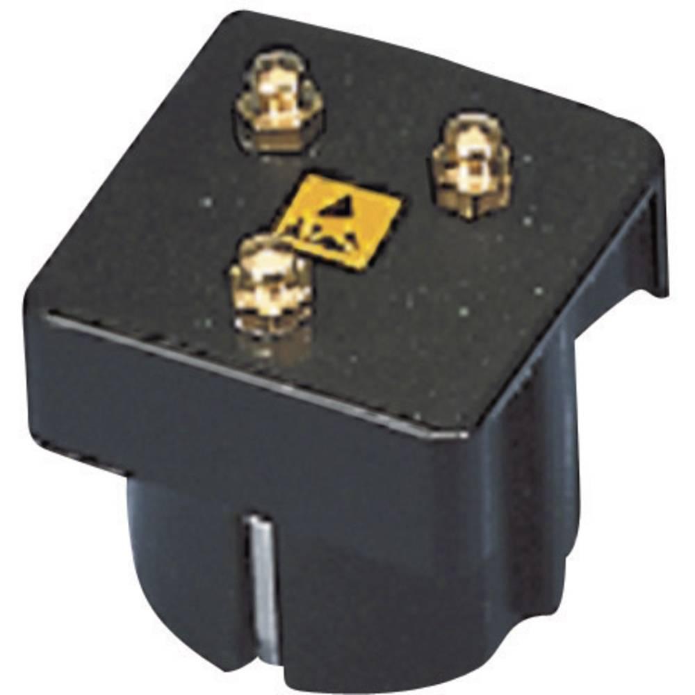 ESD ozemljitveni vtič BJZ C-186 151 pritisni gumb 4.5 mm