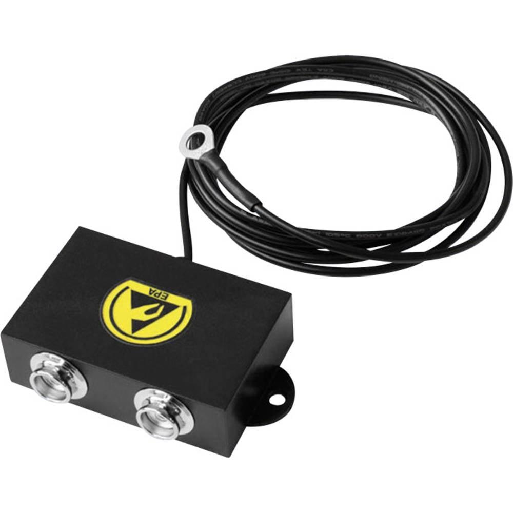 ESD ozemljitvena škatla 1.5 m BJZ C-197 2541 pritisni gumb 10.3 mm, ušesce 4 mm