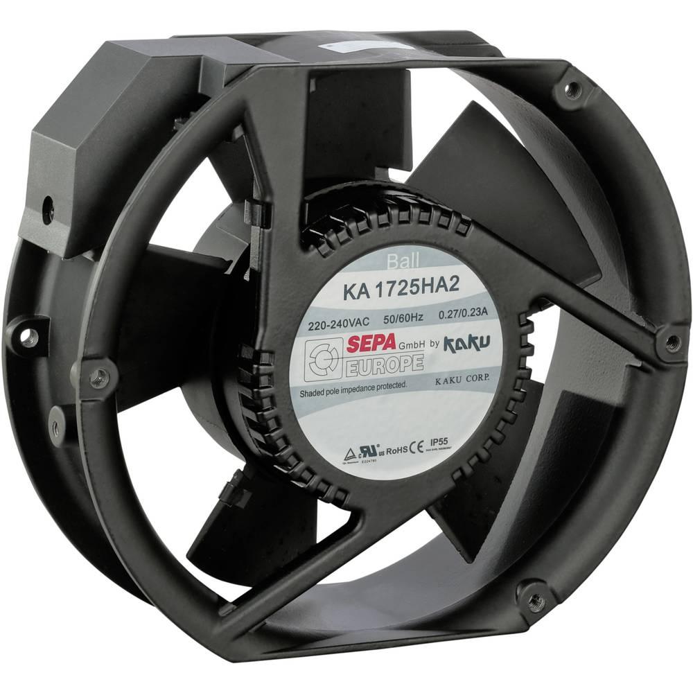 Aksialni ventilator 230 V/AC 340 m/h (D x Š x V) 173 x 150 x 51 mm SEPA KA1725HA2BMT/Mg