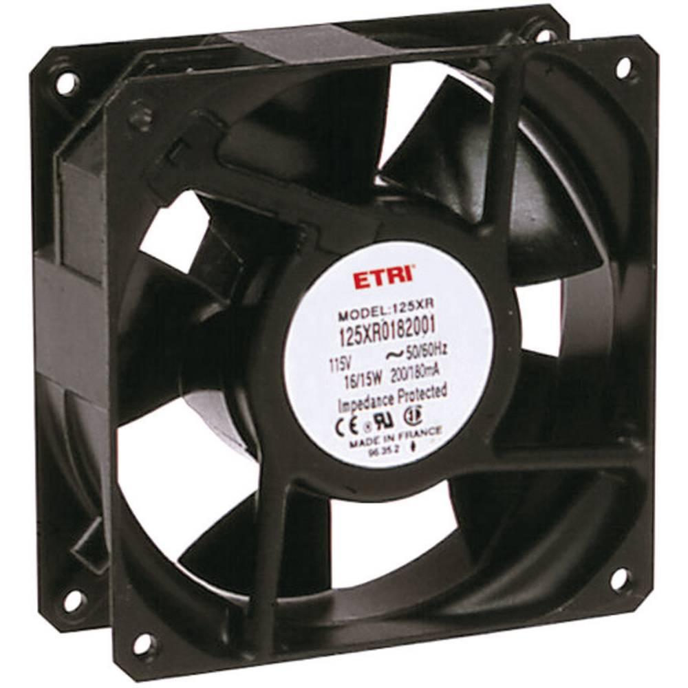 Aksialni ventilator 240 V/AC 2640 l/min (D x Š x V) 119 x 119 x 38.9 mm Ecofit 125XR0181000