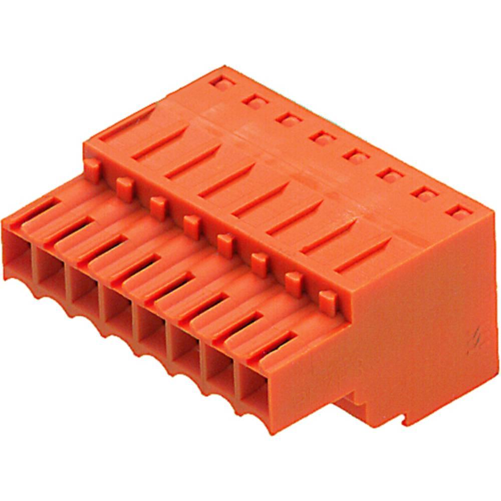 Tilslutningskabinet-kabel BL/SL (value.1360602) Samlet antal poler 10 Weidmüller 1690270000 Rastermål: 3.50 mm 50 stk