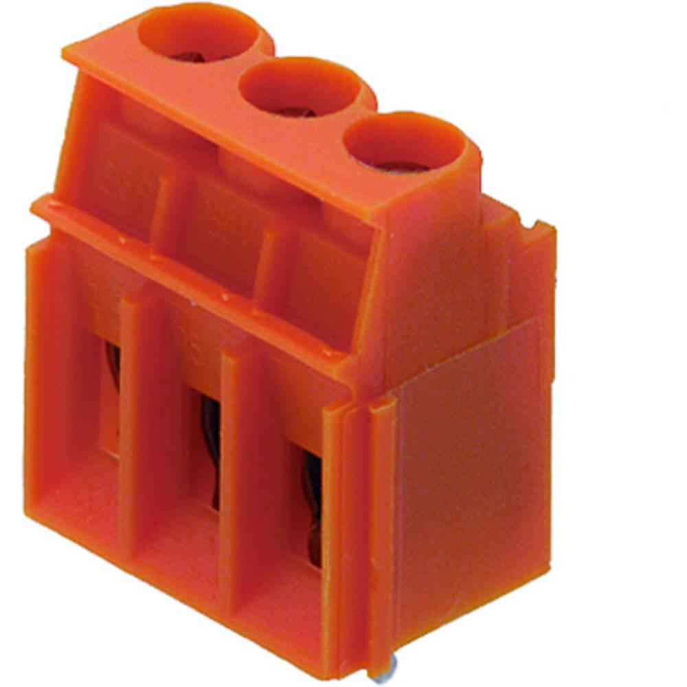 Skrueklemmeblok Weidmüller LP 5.00/02/90 4.5SN BK BX 4.00 mm² Poltal 2 Sort 100 stk