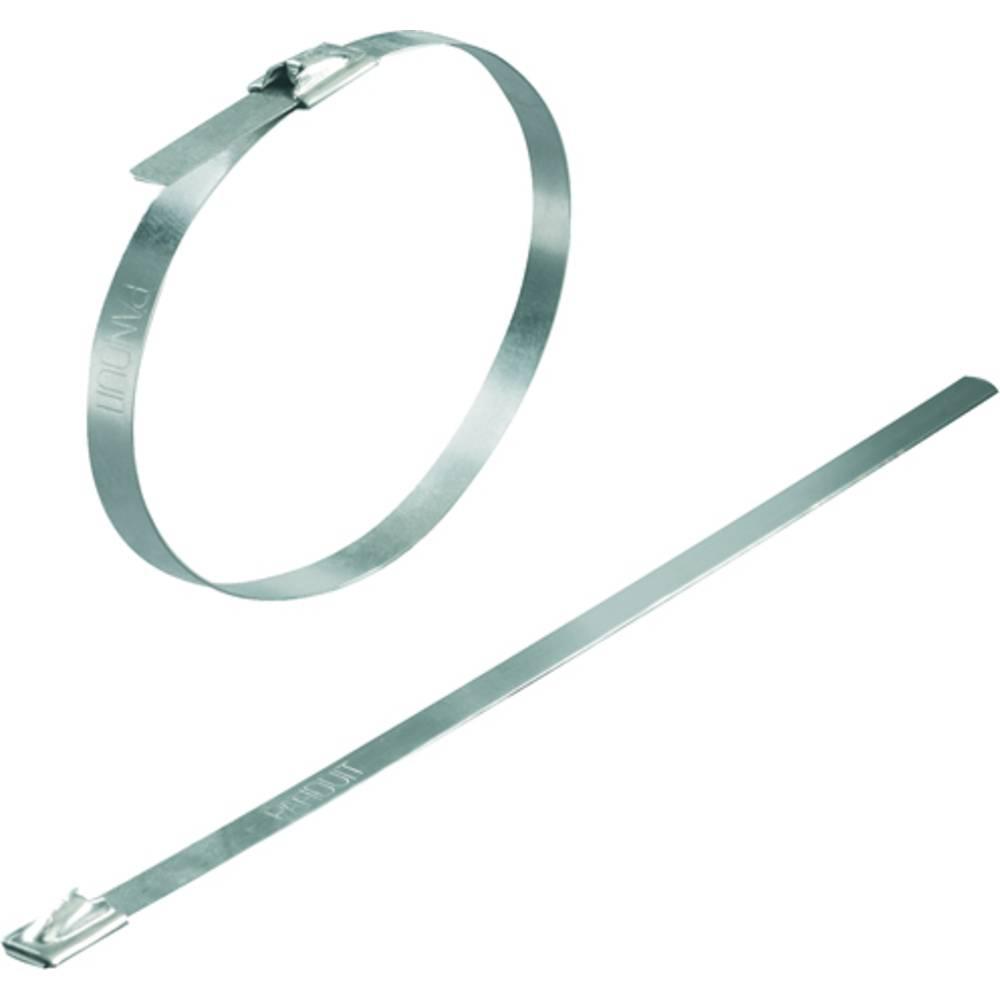 Kabelske vezice 679 mm srebrne barve temperaturno stabilna Weidmüller KTV145 SCT 4,6/679 100 kos