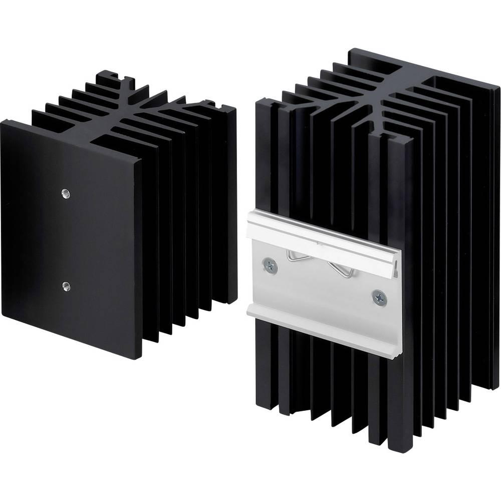 Hladilno telo 1 K/W (D x Š x V) 100 x 75 x 87 mm Fischer Elektronik SK 89 100 KL-SSR2