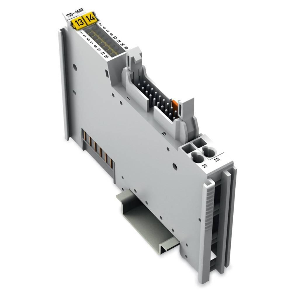 WAGO 16-kanalna-digitalna vhodna spona 750-1400 vsebuje: 1 kos