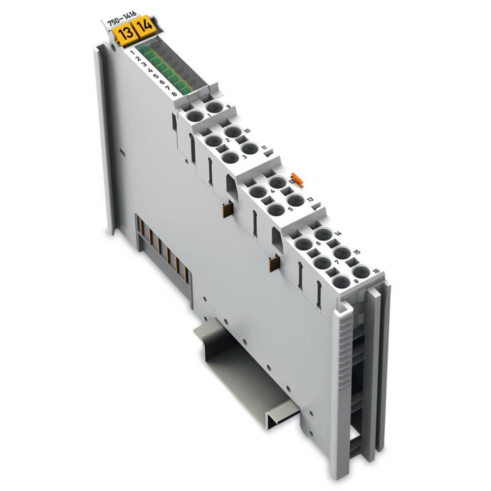 WAGO 8-kanalna-digitalna vhodna spona 750-1416 24 V/DC vsebuje: 1 kos