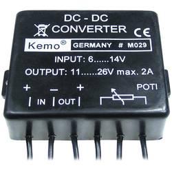 Kemo naponski pretvarač ulazninapon 6 - 14 V/DC izlazni napon 11 - 26 V/DC i M029