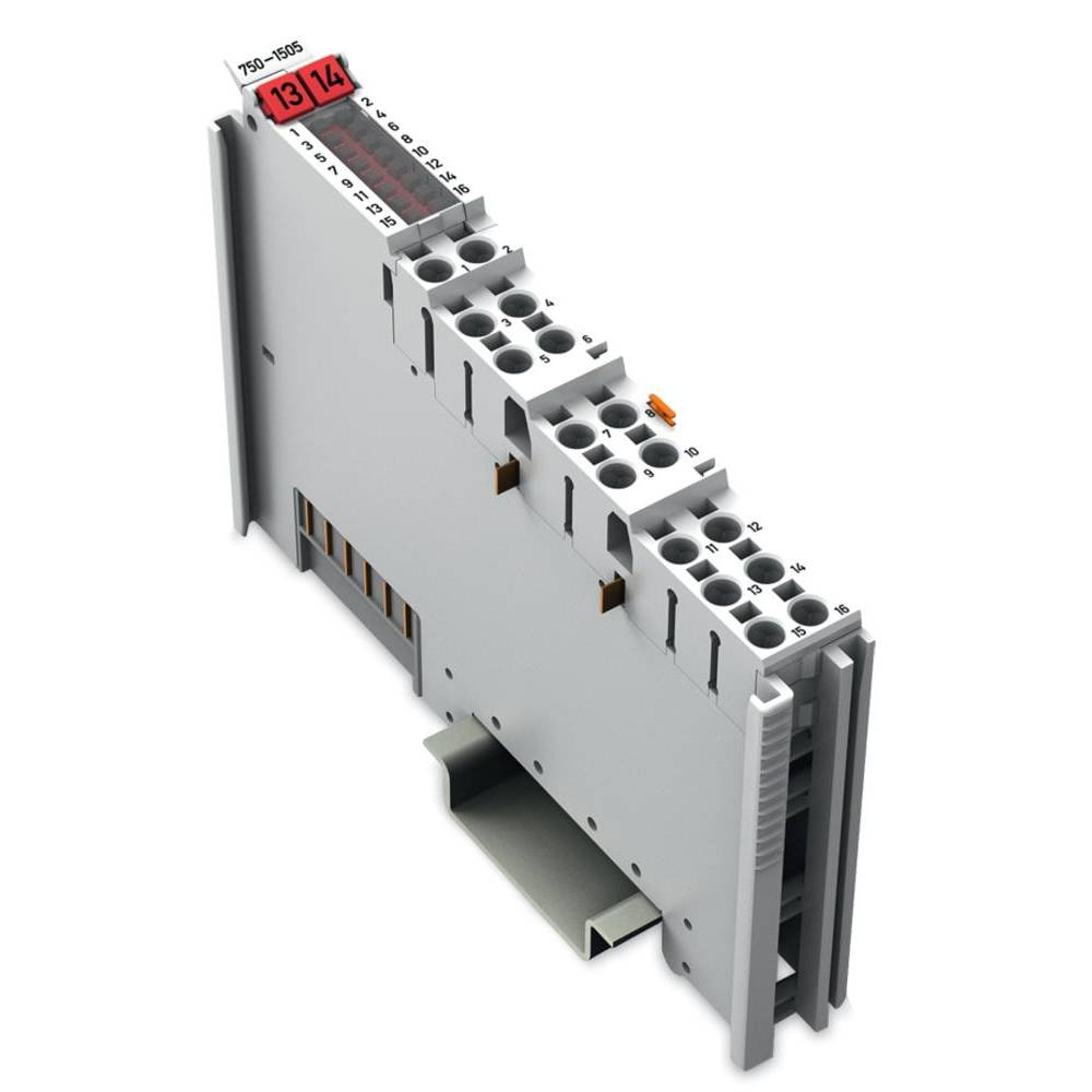 WAGO 16-kanalna-digitalna izhodna spona 750-1505 24 V/DC vsebuje: 1 kos
