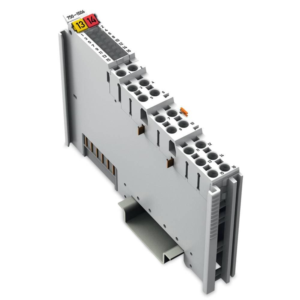 WAGO 8-kanalna-digitalna vhodna/izhodna spona 750-1506 24 V/DC vsebuje: 1 kos
