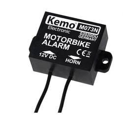 Alarm za motor Kemo, napajanje: maks. 25 V/DC M073N