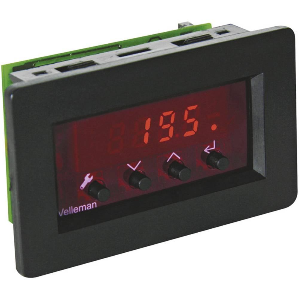 Termostat s pokazivačem Velleman, 9-12 V/DC VM148