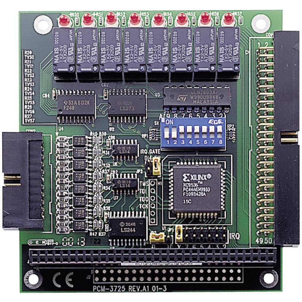 Advantech PCM-3725-AE PC/104-PCM Kartica, 8 izoliranih DI kanalov in 8 kanalov rele
