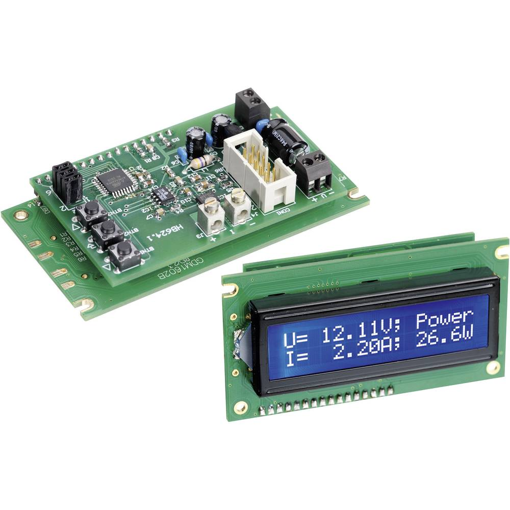H-Tronic Digitalni mjerač snage s LCD-prikazom LM 800 (vatmeter) modul 8 - 15 V/DC 1190012