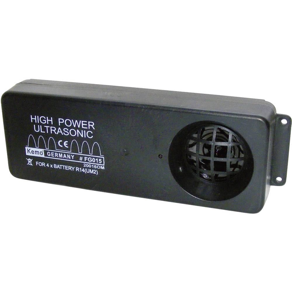 Kemo Prenosni ultrazvočni odganjalnik Modul 6 V/DC Domet (maks.) 200 m Zvočni tlak (db) 10 FG015
