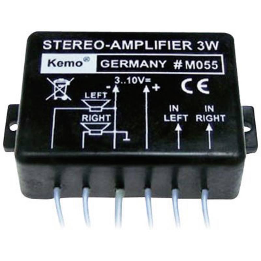 Stereo ojačevalni modul Kemo M055 9 V/DC 3 W 8