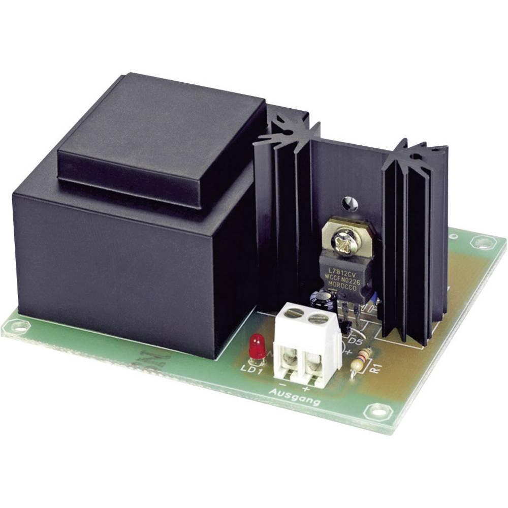 Moduli za napajanje Conrad izlazni napon 12 V, izlazna struja 500 mA Komplet za sastavljanje