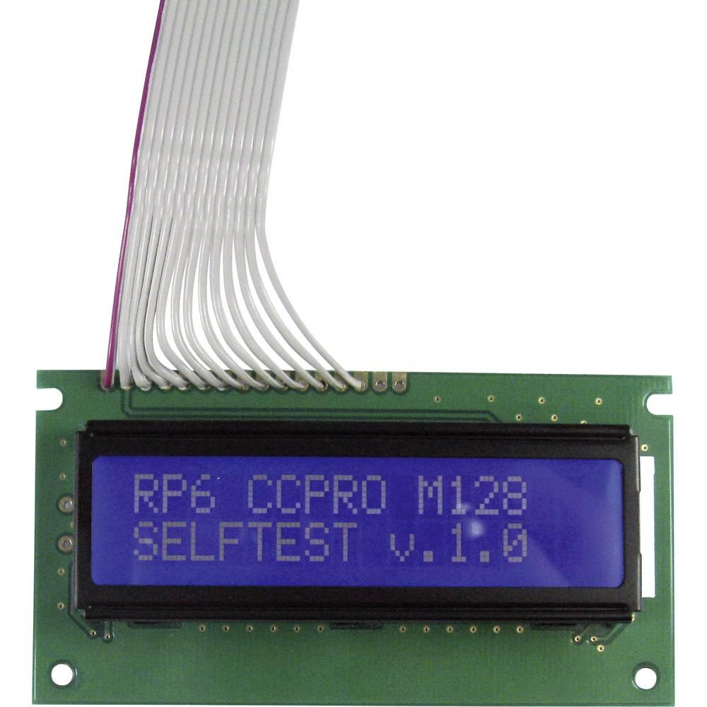 LCD-zaslon za priključitev narazširitvene module RP6 Arexx
