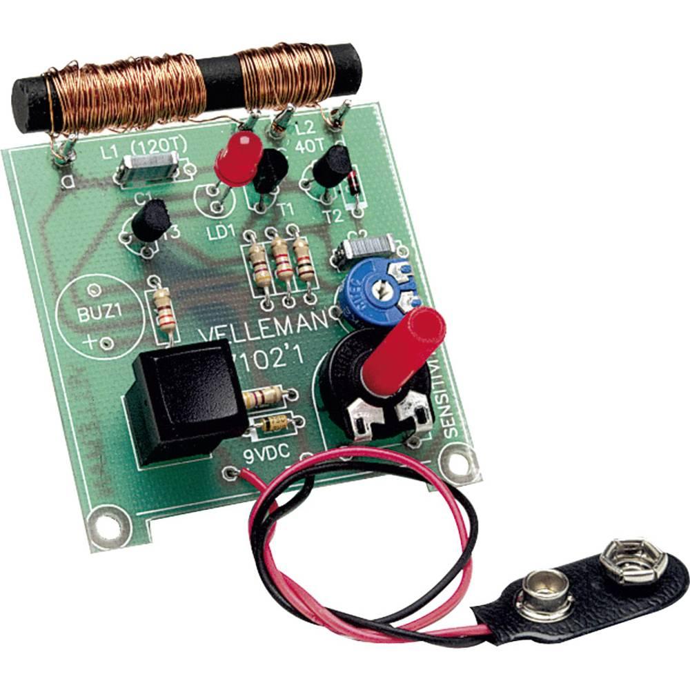 Velleman Detektor kovine Komplet za sestavljanje 9 V/DC K7102