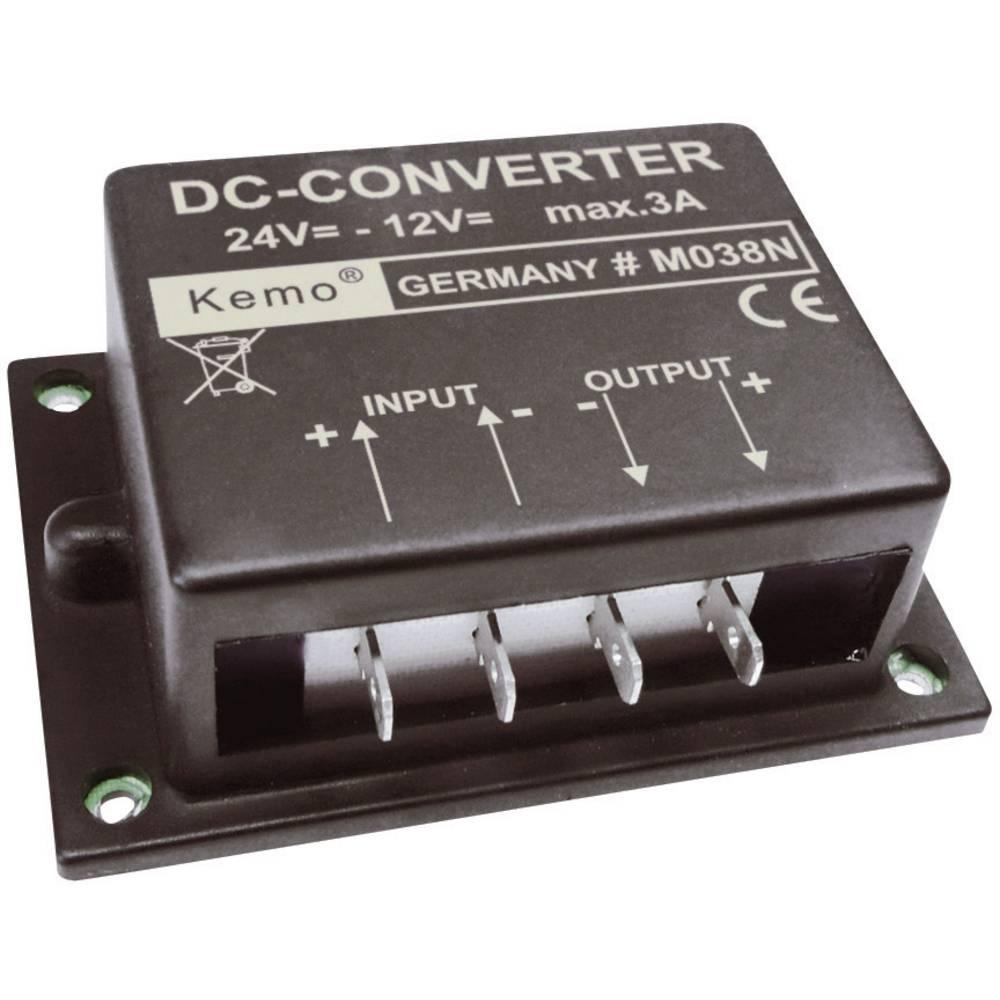 Pretvornik napetosti - modul Kemo vhodna napetost: 24 - 26 V/DC izhodna napetost: 12 V/DC (maks.)