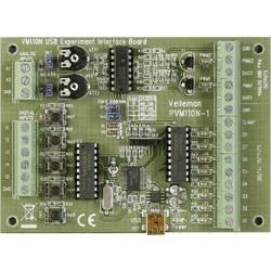 Preizkusna plošča z USB-vmesnikom VM110N Velleman
