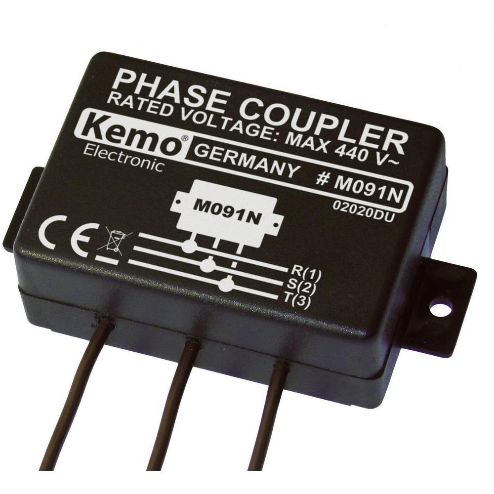 Fazni veznik - modul Kemo Powerline M091N maks. vhodna napetost: 400 V/AC