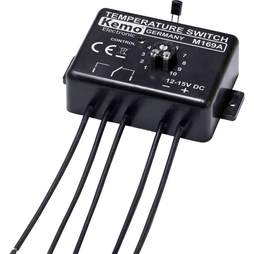Kemo Temperaturno stikalo-termostat, 12 V/DC M169 modul 12 -15 V/DC