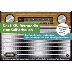 UKV-radio v retro videzu Franzis, komplet za sestavljanje 65040 Franzis Verlag