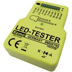 Tester LED-dioda Kemo, 9 V/DC M087N