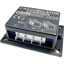Kemo dupli baterijski punjač,modul 6 - 24 V/DC M102N