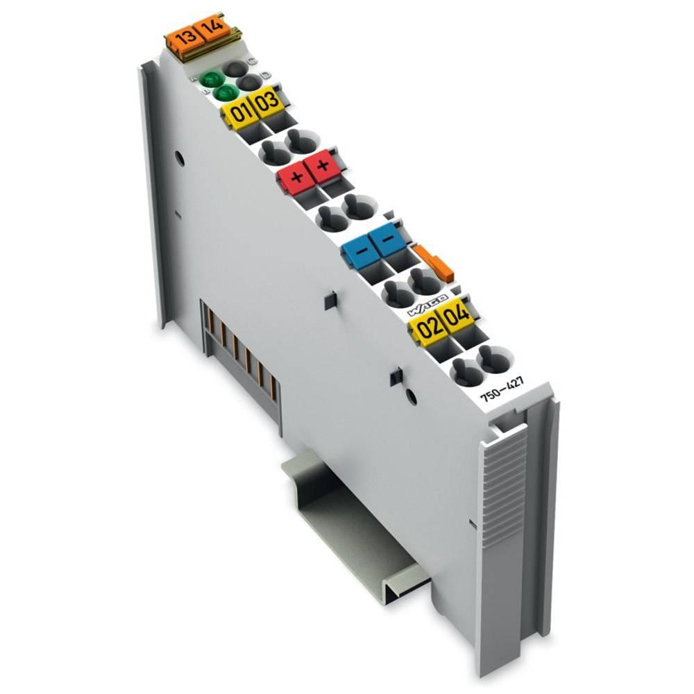 WAGO 2-kanalna-digitalna vhodna spona 750-427 110 V/DC vsebuje: 1 kos