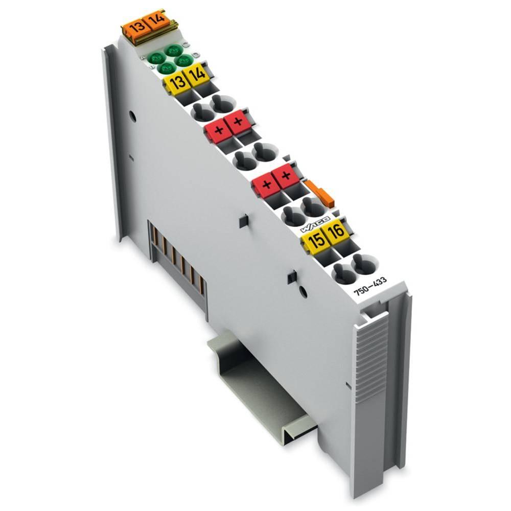 WAGO 4-kanalna-digitalna vhodna spona 750-433 24 V/DC vsebuje: 1 kos