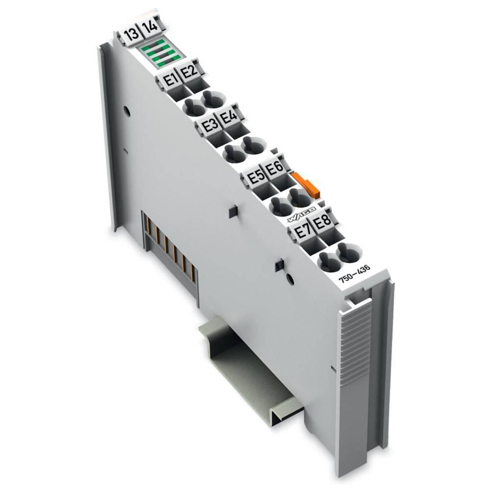 WAGO 8-kanalna-digitalna vhodna spona 750-436 24 V/DC vsebuje: 1 kos