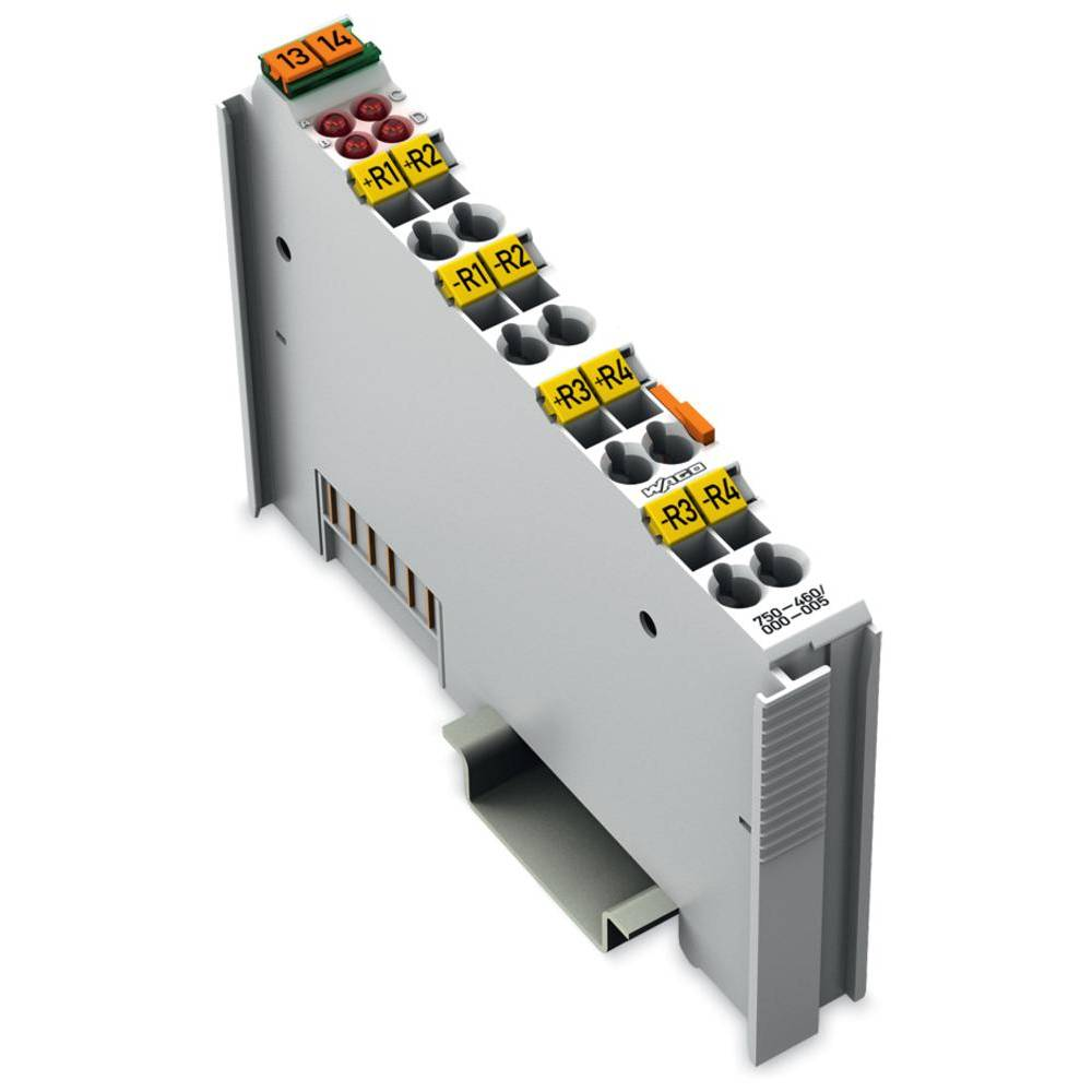 WAGO 4-kanalna-analogna vhodna spona 750-460/000-005 prek sistemske napetosti / DC vsebuje: 1 kos