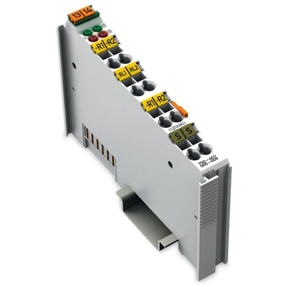 WAGO 2-kanalna-analogna vhodna spona 750-461/000-009 prek sistemske napetosti / DC vsebuje: 1 kos