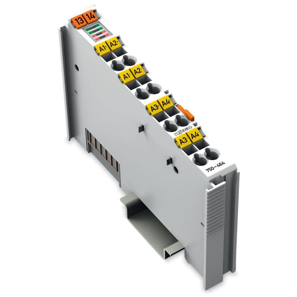 WAGO 2-/4-kanalna-analogna vhodna spona 750-464 prek sistemske napetosti / DC vsebuje: 1 kos