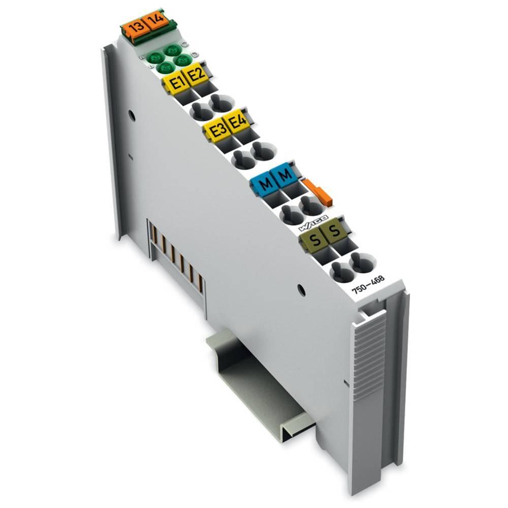 WAGO 4-kanalna-analogna vhodna spona 750-468 vsebuje: 1 kos