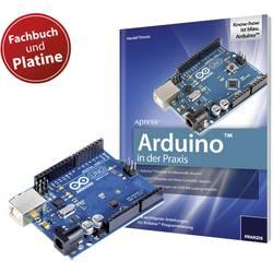 Franzis Verlag Bok Arduino i praktiken + orginal Arduino Uno kretskort