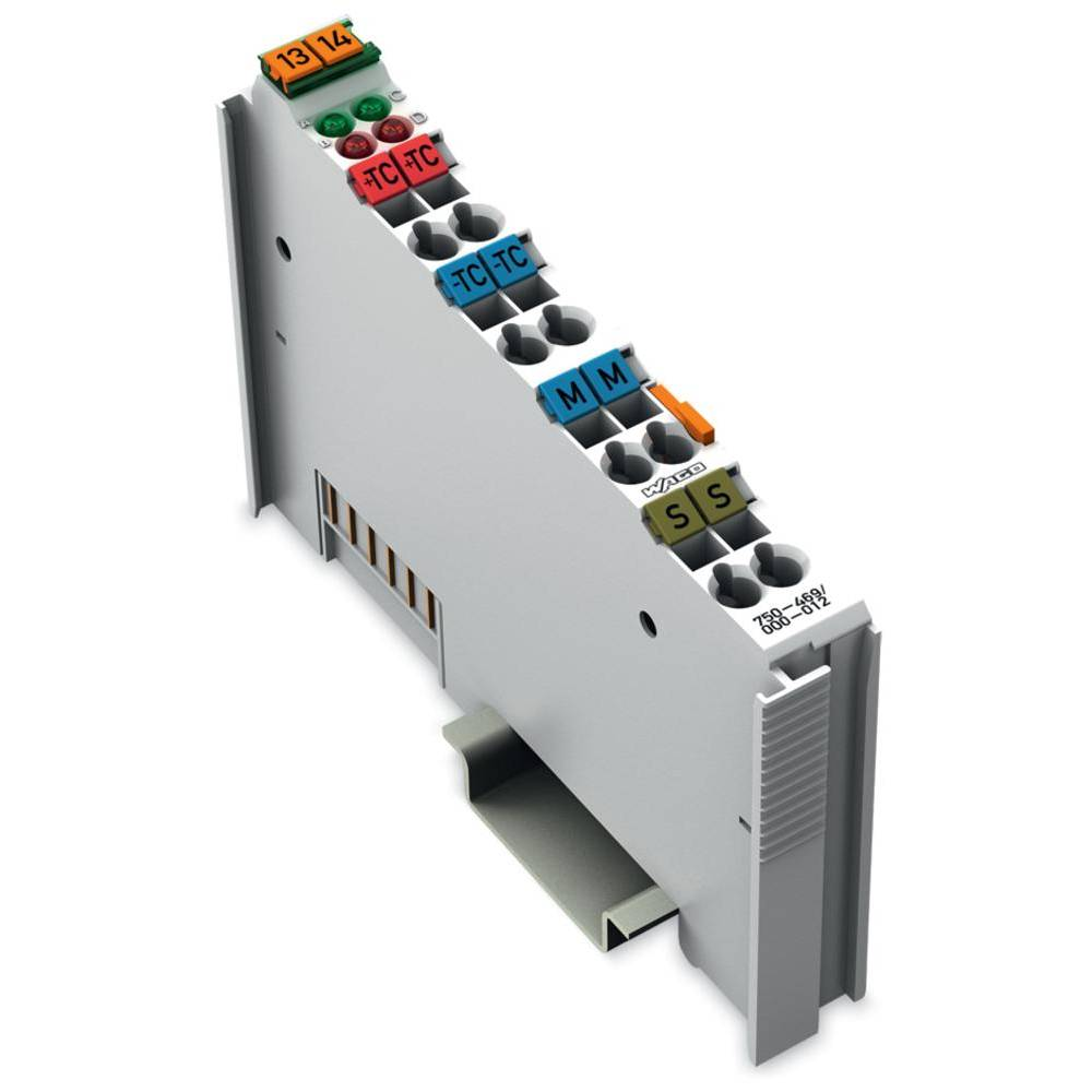 WAGO 2-kanalna-analogna vhodna spona 750-469/000-012 prek sistemske napetosti / DC vsebuje: 1 kos