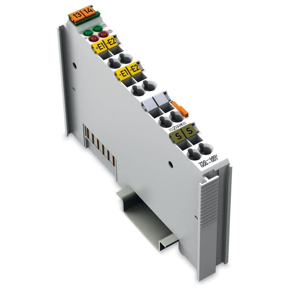 WAGO 2-kanalna-analogna vhodna spona 750-480/000-001 prek sistemske napetosti / DC vsebuje: 1 kos