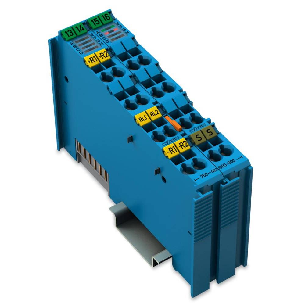 WAGO 2-kanalna-analogna vhodna spona 750-481/003-000 vsebuje: 1 kos